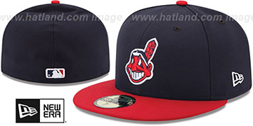 Indians '2017 ONFIELD HOME' Hat by New Era