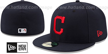 Indians AC-ONFIELD ROAD Hat by New Era