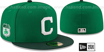 Indians '2017 ST PATRICKS DAY' Hat by New Era