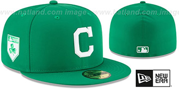 Indians 2018 ST PATRICKS DAY Hat by New Era