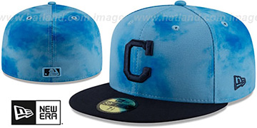 Indians 2019 FATHERS DAY Fitted Hat by New Era