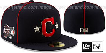 Indians 2019 MLB ALL-STAR GAME Fitted Hat by New Era
