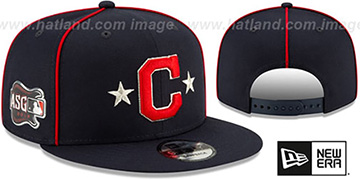 Indians 2019 MLB ALL-STAR GAME SNAPBACK Hat by New Era