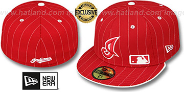 Indians 'FABULOUS' Red-White Fitted Hat by New Era