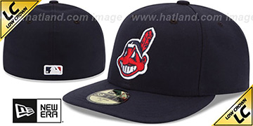 Indians 'LOW-CROWN' ALTERNATE-2 Fitted Hat by New Era