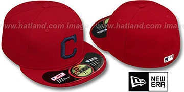 Indians 'PERFORMANCE ALTERNATE'-1 Hat by New Era