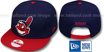 Indians 'REPLICA HOME SNAPBACK' Hat by New Era