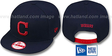 Indians REPLICA ROAD SNAPBACK Hat by New Era