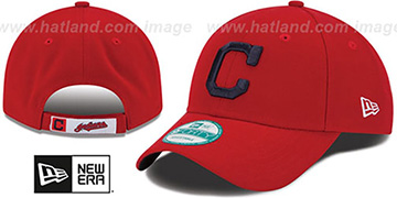 Indians 'THE-LEAGUE ALTERNATE STRAPBACK' Red Hat by New Era