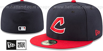 Indians 'TURN-BACK-THE-CLOCK' Fitted Hat by New Era