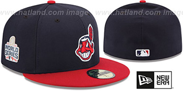 Indians '2016 WORLD SERIES HOME' Hat by New Era