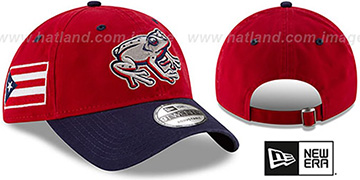 Iron Pigs 'COPA STRAPBACK' Red-Navy Hat by New Era