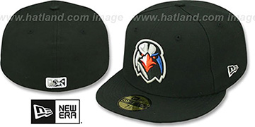 Ironbirds 'PERFORMANCE HOME' Black Fitted Hat by New Era