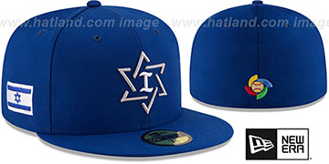 Israel 'PERFORMANCE WBC-2' Royal Hat by New Era