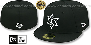 Israel PERFORMANCE WBC Black-White Hat by New Era