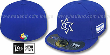 Israel 'PERFORMANCE WBC' Royal Hat by New Era