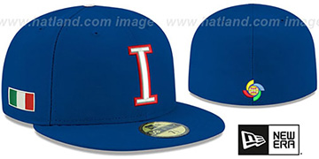 Italy 'PERFORMANCE WBC-2' Royal Hat by New Era