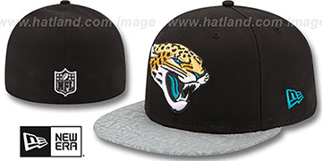 Jaguars 2014 NFL DRAFT Black Fitted Hat by New Era