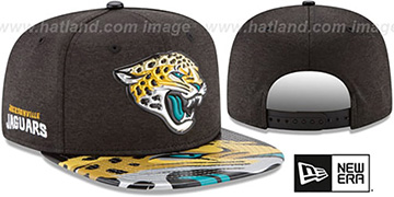Jaguars '2017 NFL ONSTAGE SNAPBACK' Hat by New Era