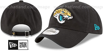 Jaguars CORE-CLASSIC STRAPBACK Black Hat by New Era