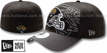 Jaguars 'NFL BLACK-CLASSIC FLEX' Hat by New Era