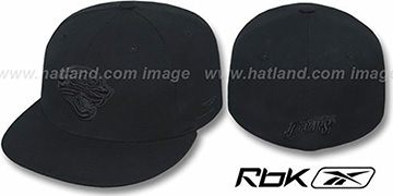 Jaguars 'NFL-BLACKOUT' Fitted Hat by Reebok
