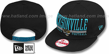 Jaguars 'NFL LATERAL SNAPBACK' Black Hat by New Era