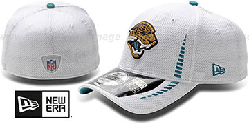 Jaguars 'NFL TRAINING FLEX' White Hat by New Era