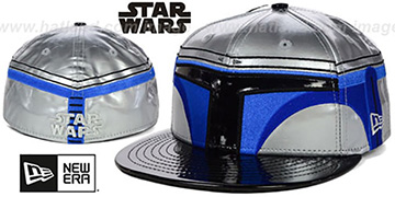 Jango Fett CHARACTER FACE Fitted Hat by New Era