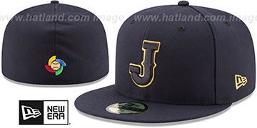 Japan 'PERFORMANCE WBC-2' Navy Hat by New Era