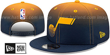 Jazz 'BACK HALF FADE SNAPBACK' Hat by New Era
