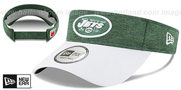 Jets 18 NFL STADIUM Green-White Visor by New Era