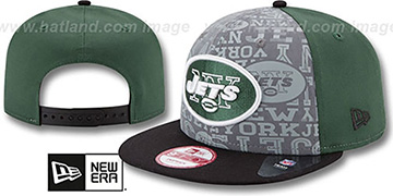 Jets 2014 NFL DRAFT SNAPBACK Green-Black Hat by New Era