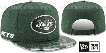 Jets 2017 NFL ONSTAGE SNAPBACK Hat by New Era