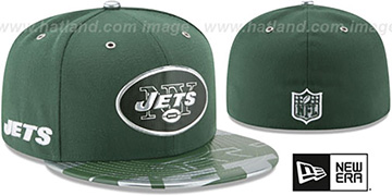 Jets '2017 SPOTLIGHT' Fitted Hat by New Era