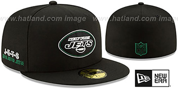 Jets 2020 NFL VIRTUAL DRAFT Black Fitted Hat by New Era