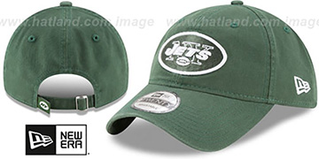 Jets CORE-CLASSIC STRAPBACK Green Hat by New Era