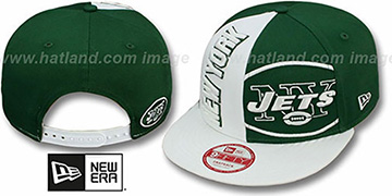 NY Jets NE-NC DOUBLE COVERAGE SNAPBACK Hat by New Era