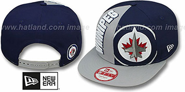 Jets 'NE-NC DOUBLE COVERAGE SNAPBACK' Hat by New Era