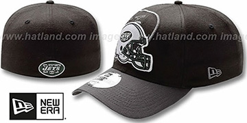 Jets 'NFL BLACK-CLASSIC FLEX' Hat by New Era