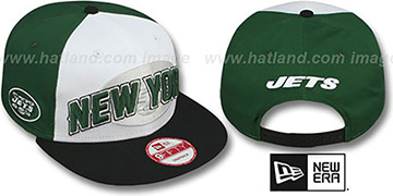 Jets NFL ONFIELD DRAFT SNAPBACK Hat by New Era