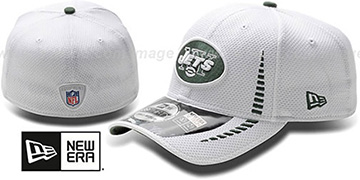 Jets 'NFL TRAINING FLEX' White Hat by New Era
