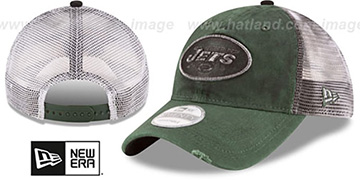 Jets 'RUSTIC TRUCKER SNAPBACK' Hat by New Era