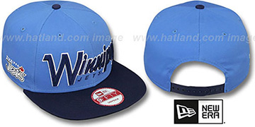 Jets 'SNAP-IT-BACK SNAPBACK' Sky-Navy Hat by New Era