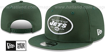 Jets TEAM-BASIC SNAPBACK Green Hat by New Era