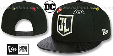 Justice League 'MEMBERS SNAPBACK' Black Hat by New Era