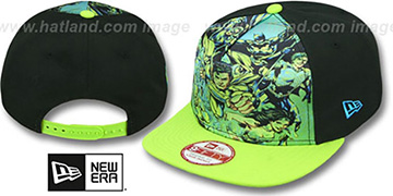Justice League TEAM STANCE SNAPBACK Hat by New Era