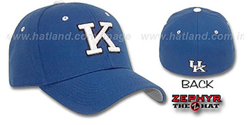 Kentucky 'DH' Fitted Hat by ZEPHYR - royal