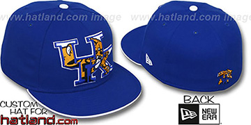 Kentucky INSIDER BIG-ONE Royal Fitted Hat by New Era