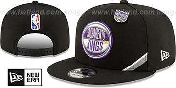 Kings 2019 NBA DRAFT SNAPBACK Black Hat by New Era